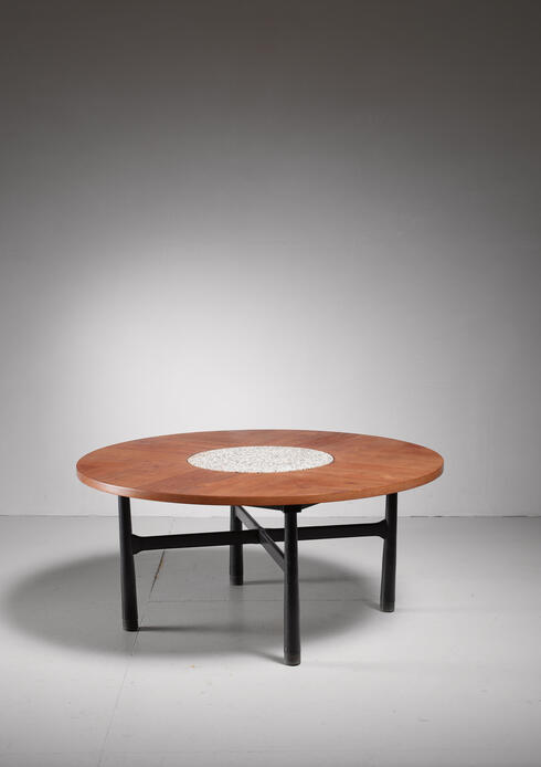 Bloomberry - Harvey Probber round Coffee Table, 1960s