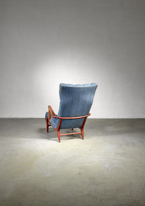 Bloomberry - Carl Cederholm easy chair, Sweden, 1940s