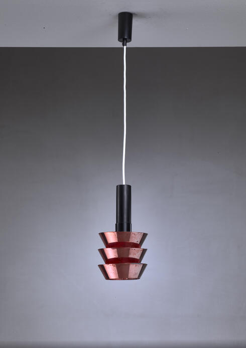Bloomberry - Itsu Old Stock Copper Pendant, Finland, 1950s