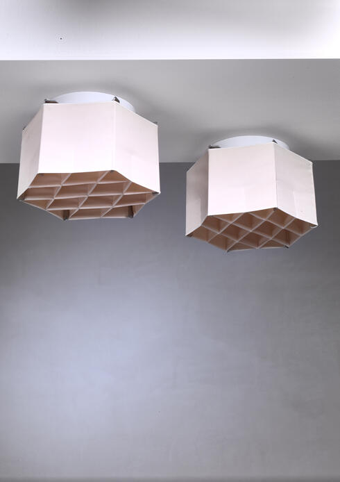 Bloomberry - Pair of Atelje Lyktan ceiling lamps, Sweden