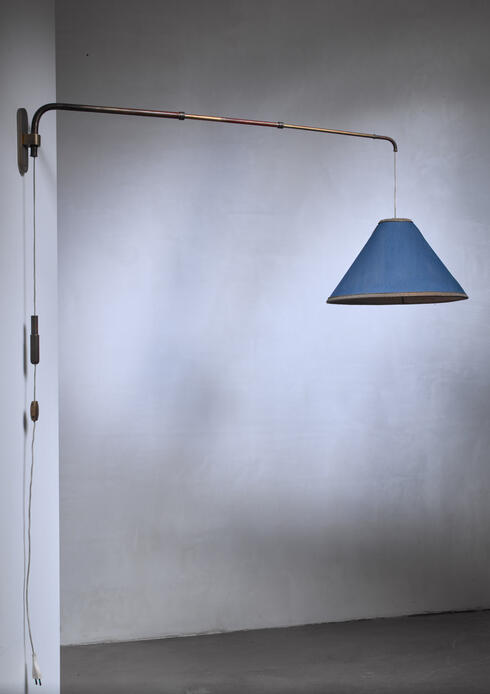 Bloomberry - Early Gino Sarfatti telescope wall lamp, Italy, 1940s