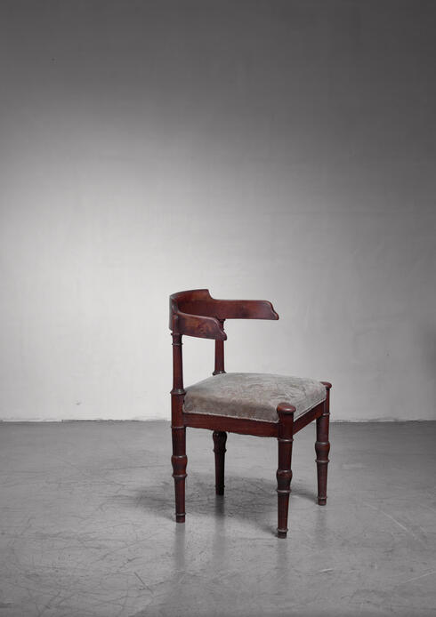 Bloomberry - Stained beech side chair, Denmark