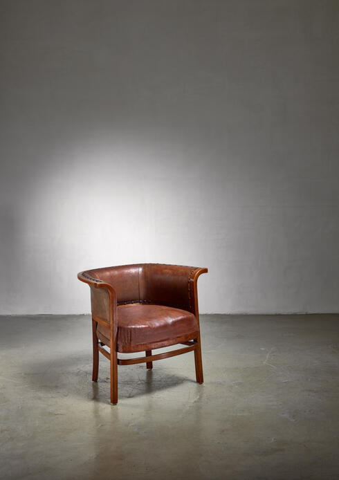 Bloomberry - Marcel Kammerer clubchair for Thonet, Austria, 1910s