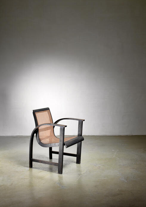 Bloomberry - Erich Dieckmann bentwood side chair, Germany, circa 1930