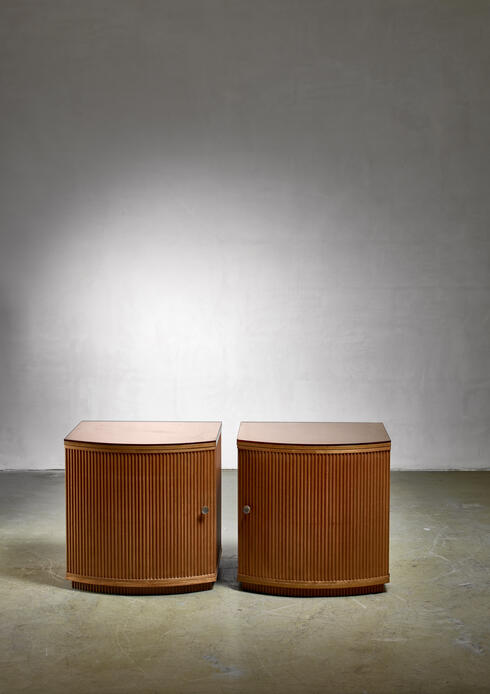 Bloomberry - Pair of Nordiska Kompaniet side tables, Sweden, 1937