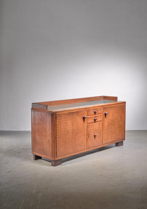 Bloomberry - Harry Dreesen Amsterdam School sideboard, 1912