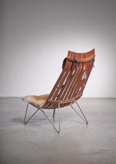 Bloomberry - Hans Brattrud Scandia lounge chair for Hove Mobler