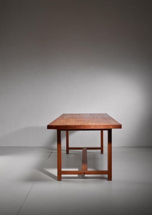 Bloomberry - Pierre Chapo elm dining table, France