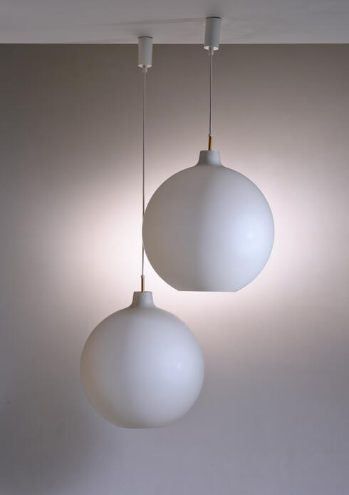 Bloomberry - 2 of 13 Large Vilhelm Wohlert Pendant Lamps for Poulsen