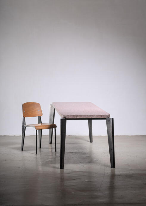 Bloomberry - A  Jean Prouve Metropole dining chair
