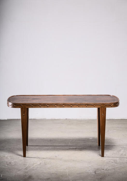 Bloomberry - Tor Wolfenstein wooden coffee or side table