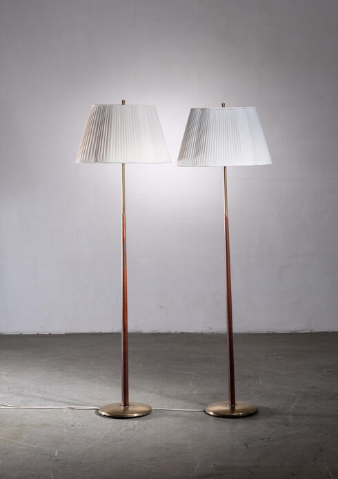Bloomberry - Pair of Scandinavian Modern floor lamps