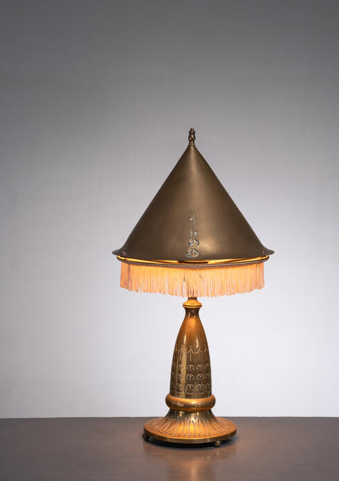 Bloomberry - Winkelman Amsterdam School table lamp