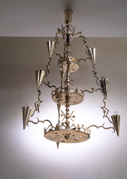 Bloomberry - Schwintzer & Gräff silver-plated chandelier