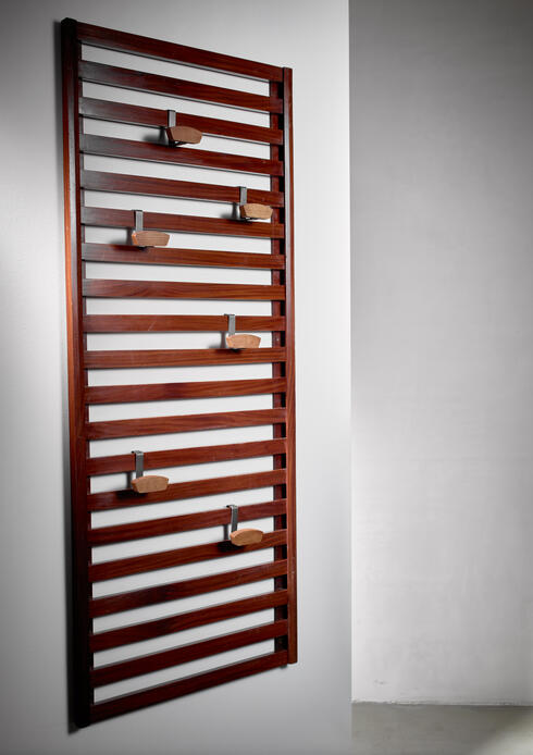 Bloomberry - Le Corbusier and Charlotte Perriand Coatrack, France, circa 1950