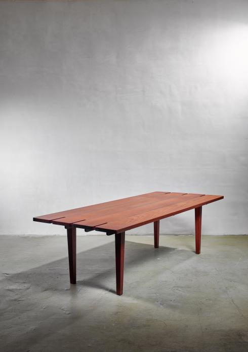 Bloomberry - Vincent LaBadessa Dining Table in Solid Wood