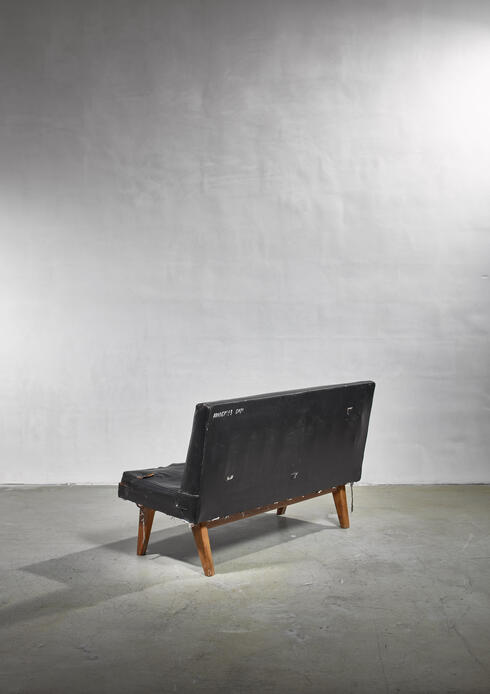 Bloomberry - Pierre Jeanneret Chandigarh High Court bench in original raw condition