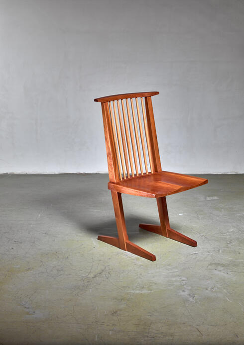 Bloomberry - George Nakashima Conoid chair, 1960s