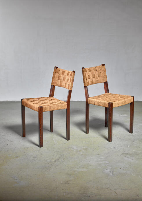 Bloomberry - Pair of Gemla chairs, Sweden, 1930s