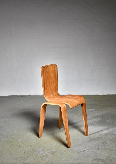 Bloomberry - Bambi chair by Han Pieck, the Netherlands, 1940s