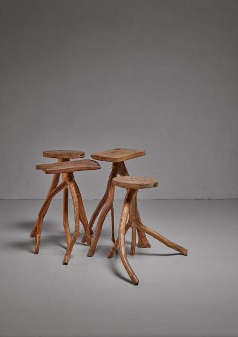 Bloomberry - Fernando da Ilha do Ferro craft stool, Brazil