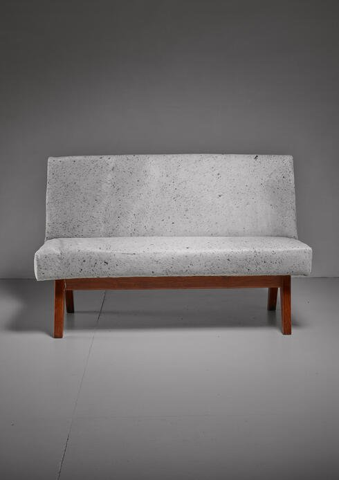 Bloomberry - Pierre Jeanneret Chandigarh High Court bench, 1950s