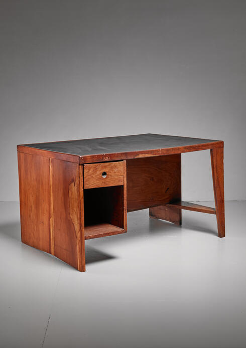 Bloomberry - Pierre Jeanneret Chandigarh High Court clerk's desk, 1950s