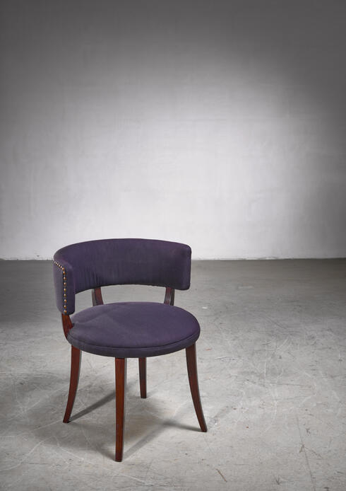 Bloomberry - Magnus Stephensen side chair with curved backrest