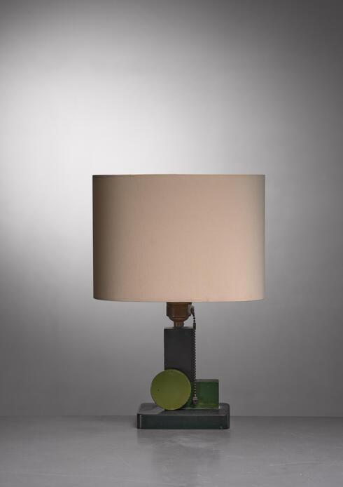 Bloomberry - Art Deco table lamp