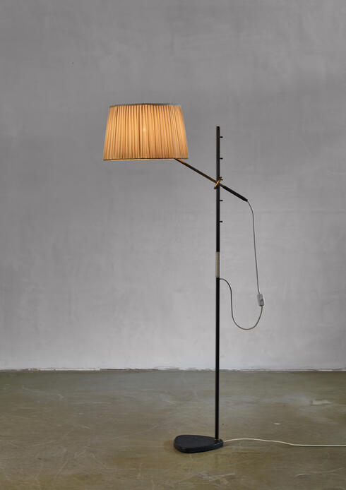 Bloomberry - Pelikan floor lamp by J.T. Kalmar, Austria, 1950s