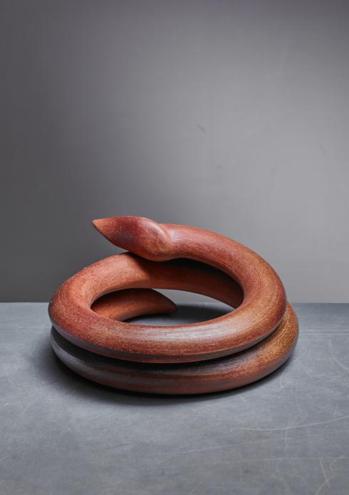 Bloomberry - Franco Agnese ceramic sculpture, France, 1960s