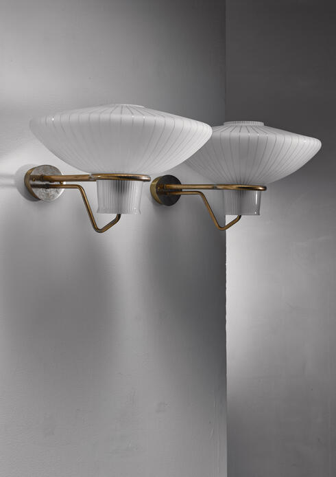 Bloomberry - Pair of Asea wall lamps, Sweden, 1950s