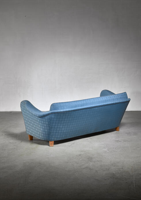 Bloomberry - Swedish blue sofa, 1930s
