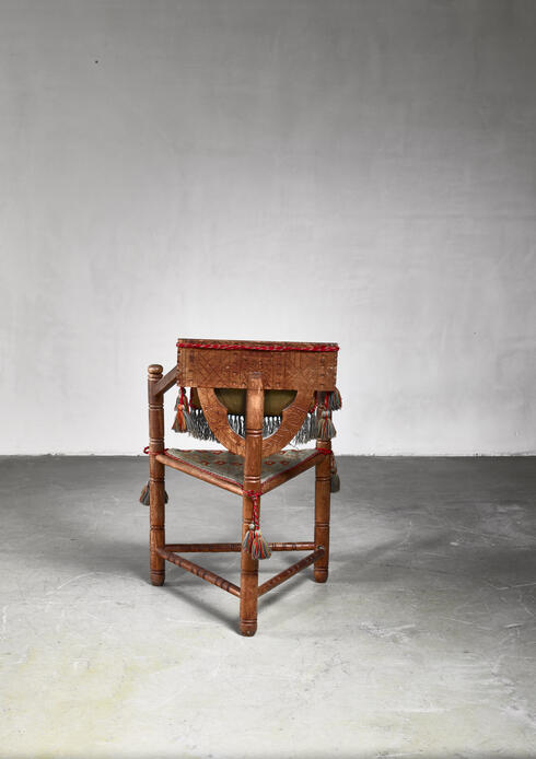 Bloomberry - Swedish monk chair, circa 1900