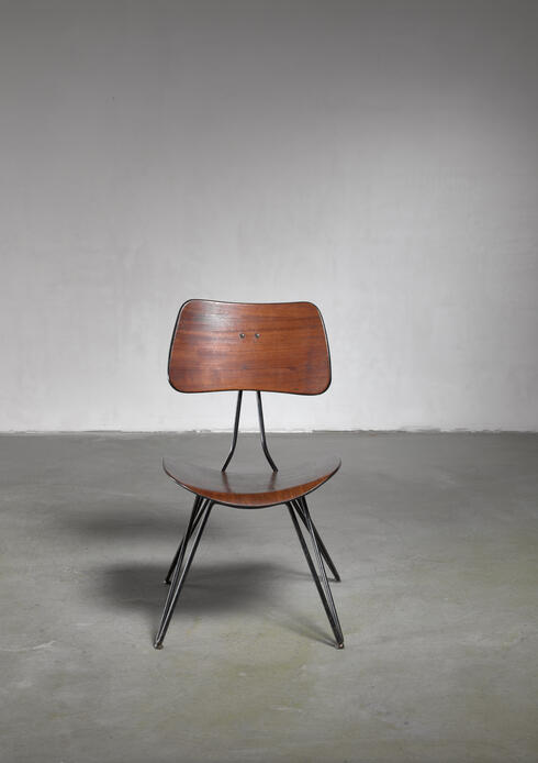 Bloomberry - Gio Ponti and Gastone Rinaldi DU10 chair for Rima, Italy
