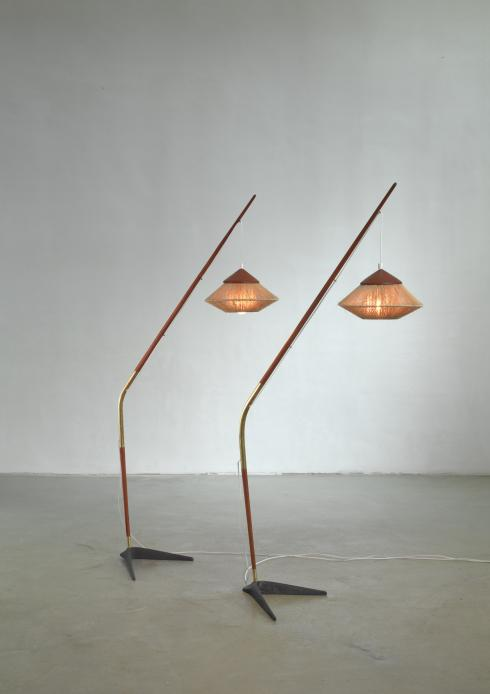 Bloomberry - Svend Aage Holm Sørensen pair of floor lamps, Denmark