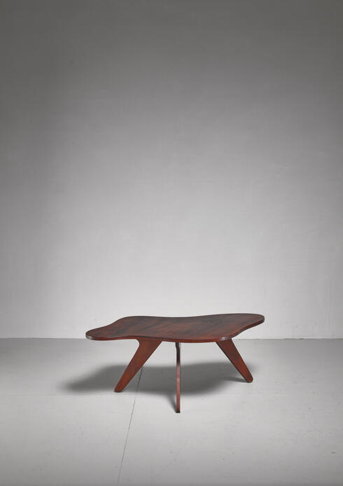 Bloomberry - José Zanine Caldas free form coffee table, Brazil