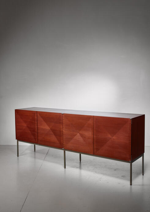 Bloomberry - Pointe de Diamant sideboard by Antoine Philippon and Jacqueline Lecoq for Behr, 1960s