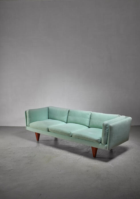Bloomberry - Illum Wikkelso three-seater sofa, Denmark, 1960s