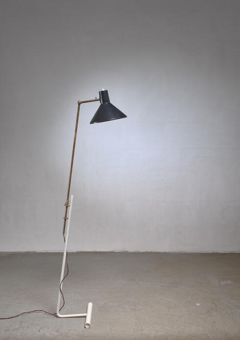 Bloomberry - Gino Sarfatti floor lamp for Arteluce, Italy