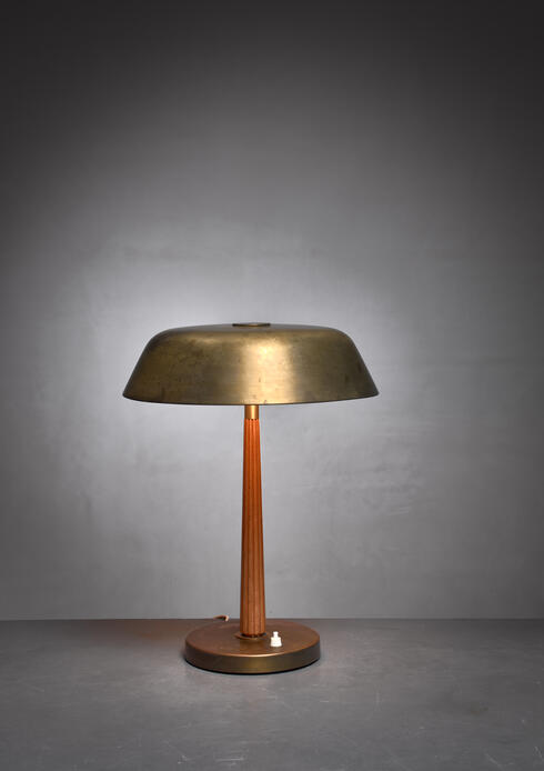 Bloomberry - Harald Notini table lamp, Sweden, 1940s