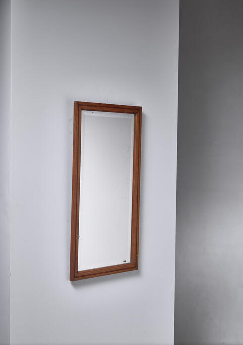 Bloomberry - Swedish mahogany mirror, circa 1900