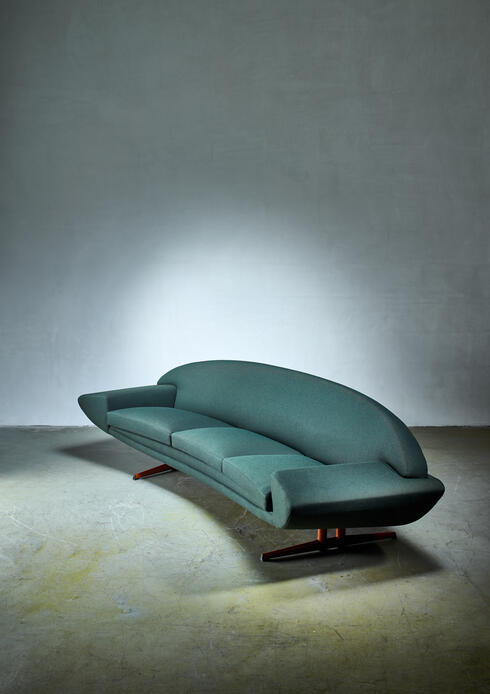 Bloomberry - Johannes Andersen 'Capri' sofa for Trensum, 1960s