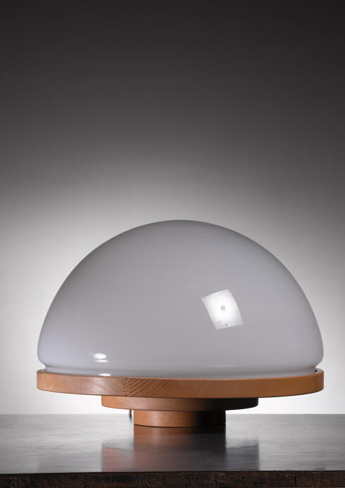 Bloomberry - One of two Selenova table lamps