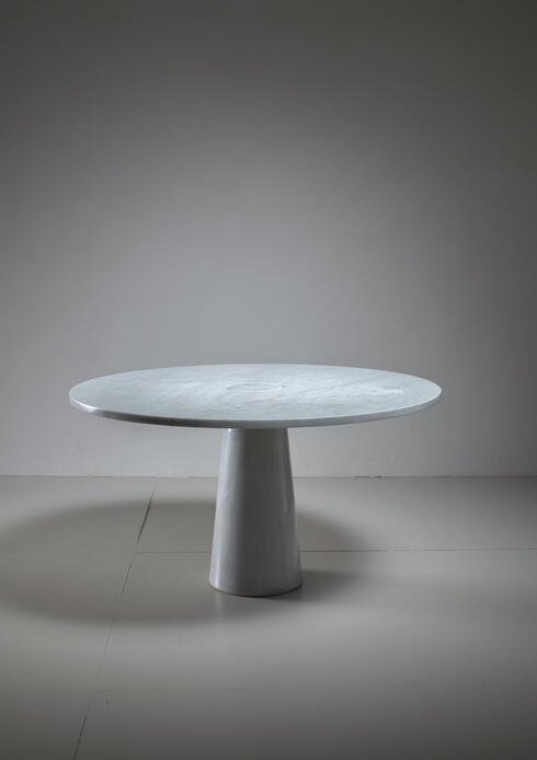 Bloomberry - Angelo Mangiarotti marble table, Italy, 1970s