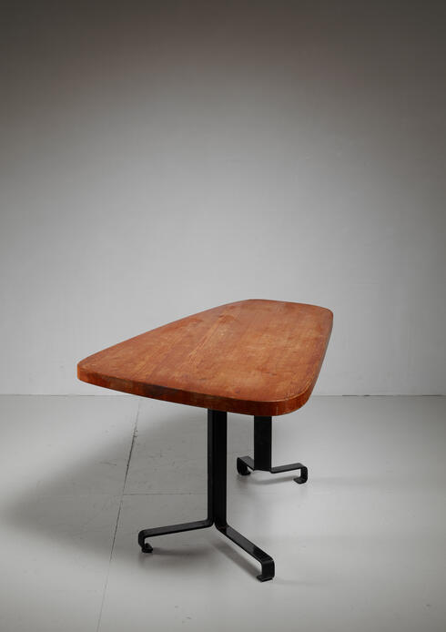 Bloomberry - Charlotte Perriand free form table from Les Arcs, France, 1960s