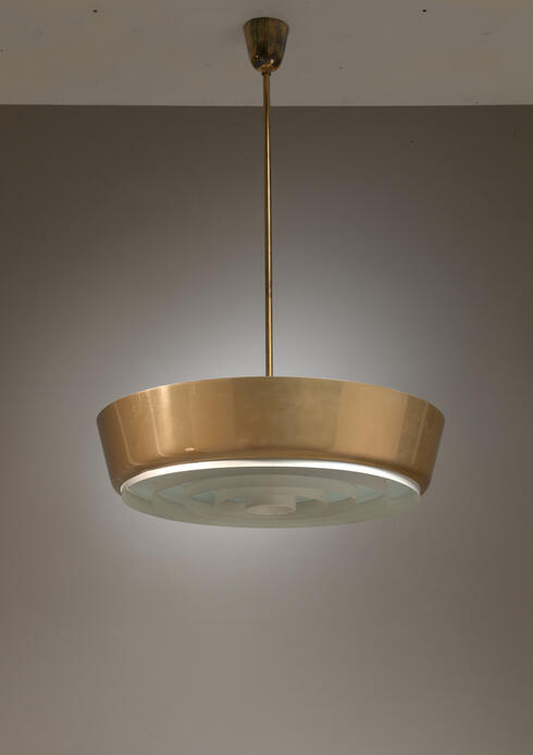 Bloomberry - Large Lisa Johansson-Pape Pendant Lamp for Orno, Finland, 1950s