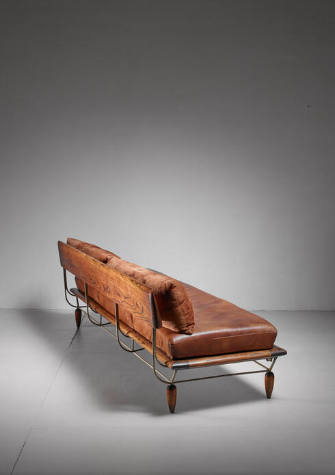 Bloomberry - Allen Ditson unique sofa, USA, 1960s