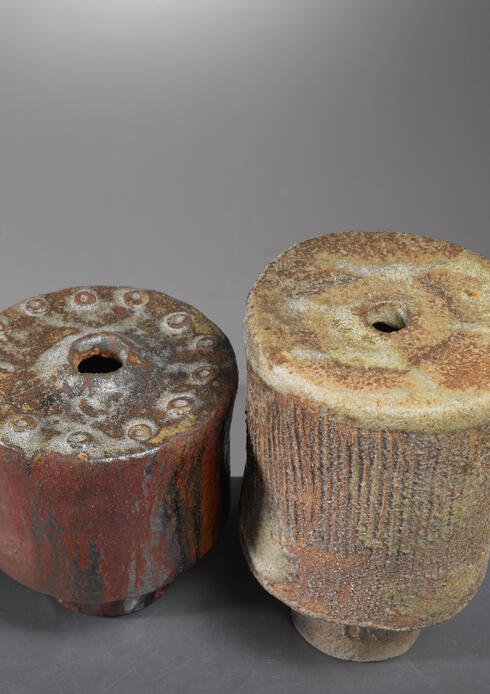 Bloomberry - José Berlanga pair of ceramic vases, Germany, 1970s