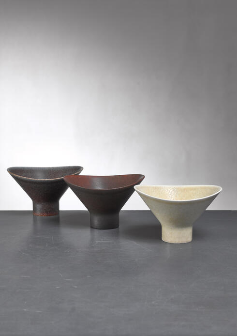 Bloomberry - Carl-Harry Stålhane set of three ceramic bowls, Sweden